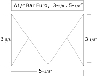 Envelope Sizes - A1 envelope template